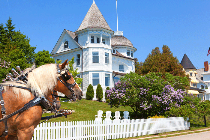 Mackinac Island Summer Travel